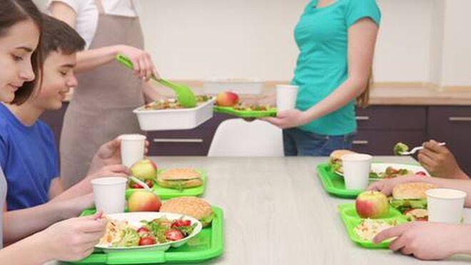 Los comedores escolares abren en un contexto de pandemia que aconseja usar aulas-comedor o medir la calidad del aire