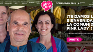Pink Lady lanza una nueva plataforma online para las fruterías españolas