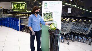 BM elimina las bolsas de plástico de un solo uso
