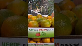 """""""Verde piel, naranja corazón"""" Alcampo incorpora mandarinas con piel verde de primera temporada"""