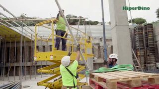 Así se construye un supermercado: nuevo Hiperdino en Las Palmas de Gran Canaria