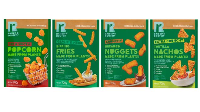 Tyson Foods lleva a Europa su marca de proteínas vegetales Raised & Rooted