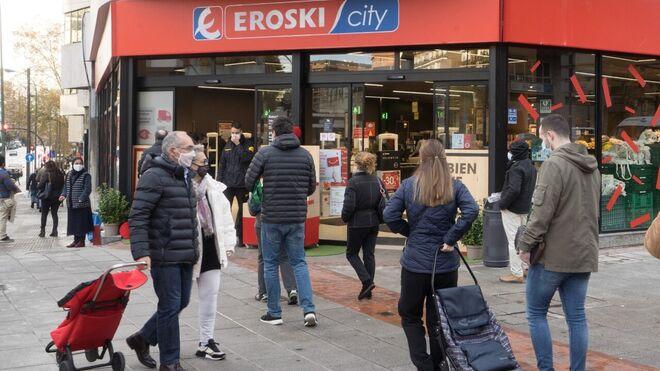 Eroski abre nuevos súper en Bilbao y Zaragoza