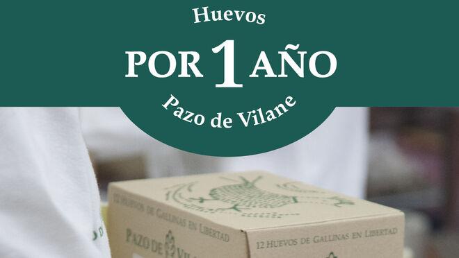 Pazo de Vilane regala 'Huevos por 1 año' en su promoción para Navidad