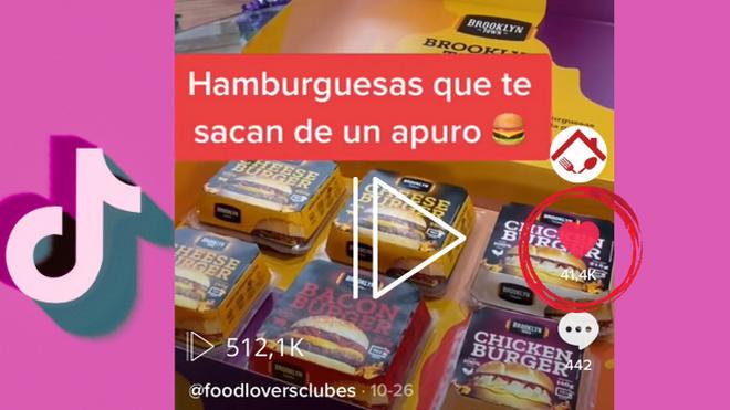 Un vídeo de Food Lovers Club supera el medio millón de reproducciones en TikTok
