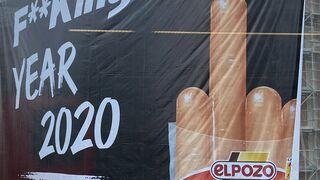 El Pozo despide con una 'peineta' este F**King Year 2020