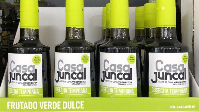 Mercadona pone a la venta el aceite de oliva virgen extra Casa Juncal