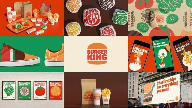 Burger King presenta nueva imagen después de 20 años