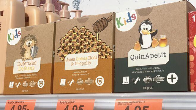 Mercadona renueva su surtido de complementos alimenticios de jalea real