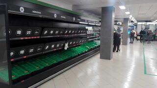 Los supermercados modifican su horario por el caos del temporal