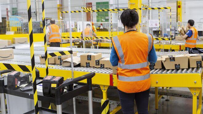Amazon ya tiene 12.000 trabajadores fijos en España
