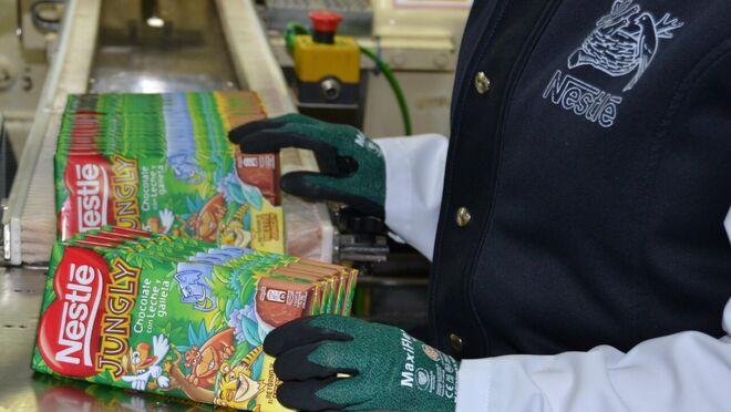 Nestlé arrasa con el relanzamiento de su chocolate Nestlé Jungly