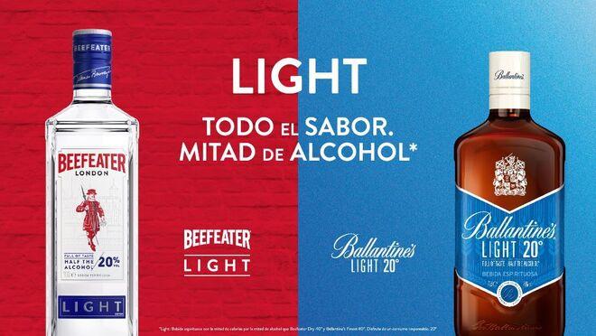 Beefeater y Ballantines light: Pernod Ricard se lanza por el 'tardeo'
