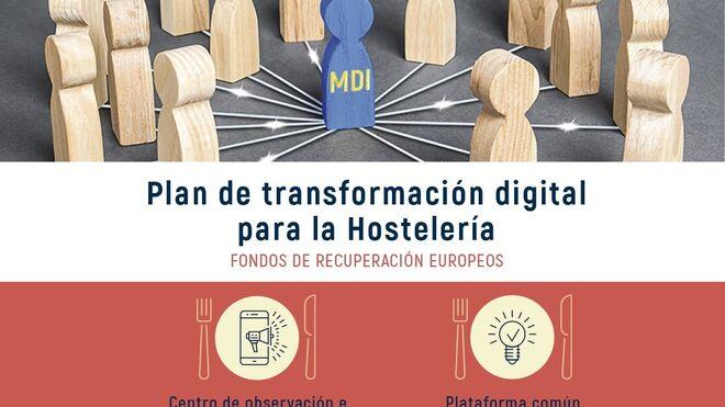La hostelería avanza en su plan para impulsar la digitalización del sector