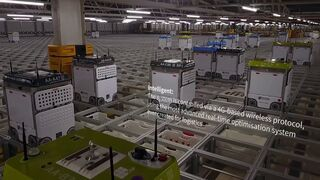 Así funciona Ocado, el súper robotizado sin tiendas que es más eficiente que Amazon