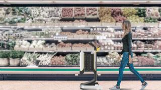 Mobi, el nuevo carrito inteligente en tiempos de Covid que evita colas en el súper