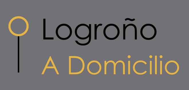 Logo de la iniciativa Logroño a domicilio