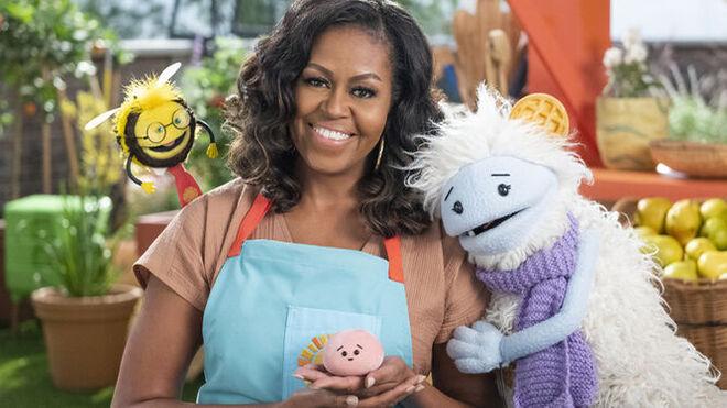 Michelle Obama, de primera dama a dueña de un supermercado (en Netflix)