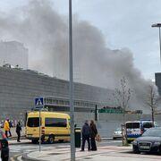 Desalojan el Carrefour de Pamplona por un pequeño incendio