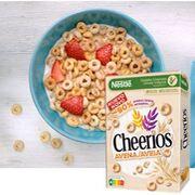 Nestlé lanza sus nuevos cereales Cheerios Avena