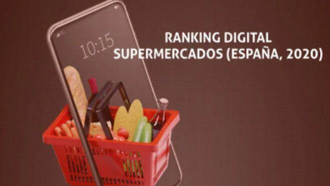 Alcampo, Hipercor y Mercadona lideran el ranking digital de los súper en España