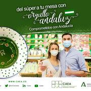 Los supermercados de CAEA impulsan el consumo de productos andaluces