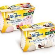 La Lechera suma dos nuevas variedades de Stracciatella a sus yogures en envase de vidrio