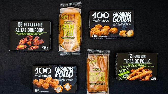 100 Montaditos y The Good Burger llegan a los supermercados españoles