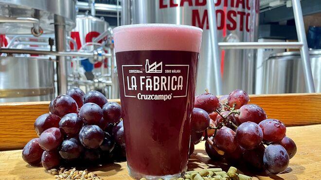 Cruzcampo Grape Beer, la cerveza que parece vino