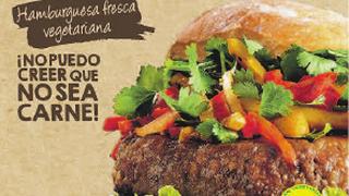 La hamburguesa vegana de Campofrío llega a los supermercados Dia