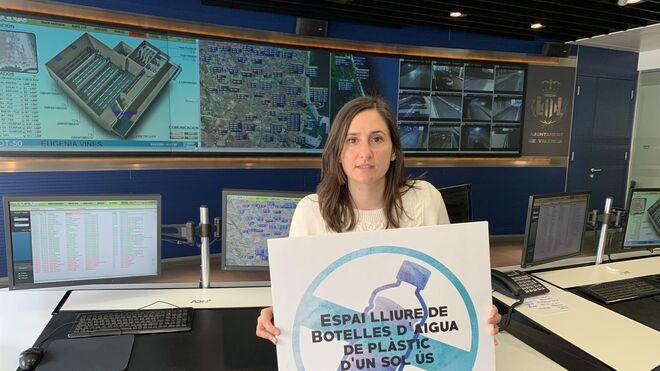 Cruzada del Ayuntamiento de Valencia contra el agua embotellada y a favor del grifo