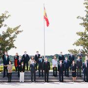 El rey Felipe VI se reúne con los representantes de Forética