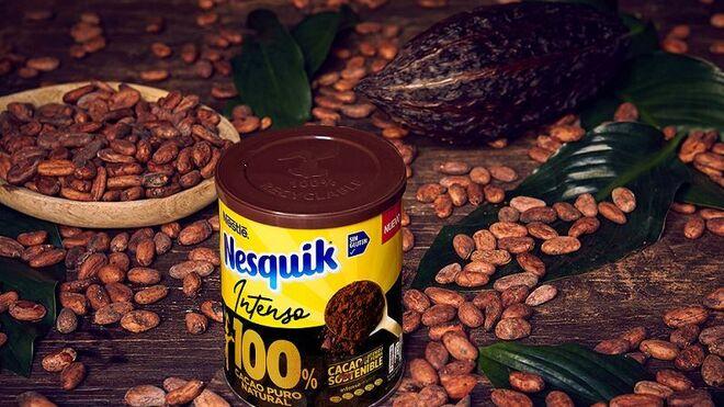 Nesquik amplía su gama con el nuevo cacao puro Intenso