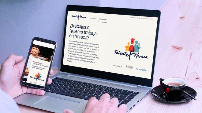 Nestlé lanza TalentoXHoreca, una plataforma de empleo en la restauración