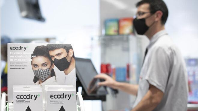 Spar Gran Canaria pone a la venta 'mascarillas inteligentes' que inactivan la Covid