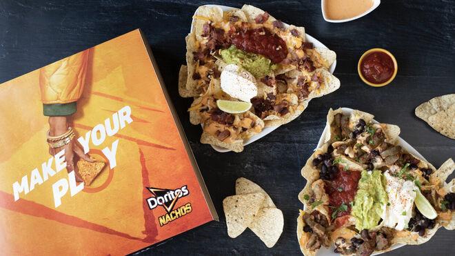 Doritos abre un restaurante virtual con Deliveroo en Madrid