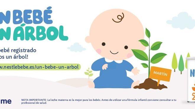 'Un bebé, un árbol', la iniciativa de Nestlé para recuperar bosques quemados