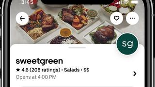 Uber Eats habilita la recogida de pedidos del restaurante durante el viaje