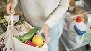 Los productos de alimentación ganan peso en la cesta de la compra online