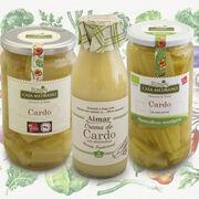 Conservas Medrano presenta sus nuevos productos de la familia del cardo