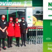 Covirán inaugura un nuevo supermercado en Alomartes (Granada)