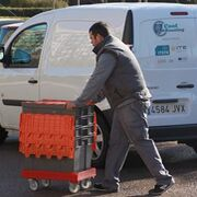 Las empresas de distribución dejan de suministrar mercancía en el centro de Palma