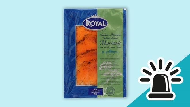Alerta alimentaria: detectada listeria en el salmón ahumado marinado con eneldo de la marca Royal