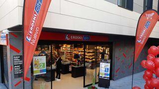 Eroski inaugura un nuevo supermercado City en Mundaka (Vizcaya)