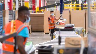 Así es el centro europeo de innovación para operaciones de Amazon