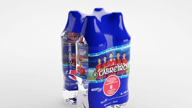 La Selección Española de Fútbol llega a los envases de Cabreiroá