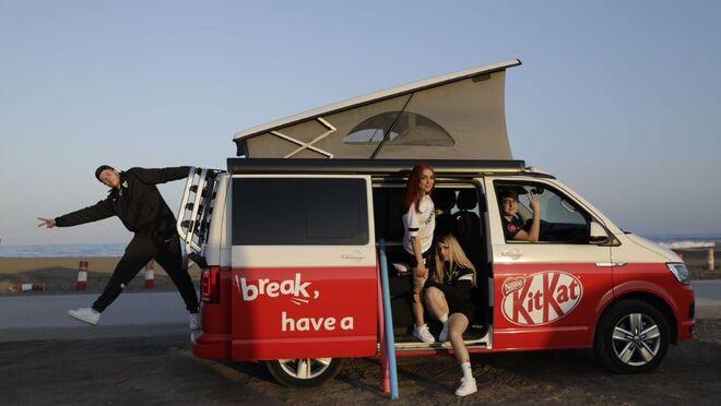 KitKat sortea viajes semanales en caravana este verano
