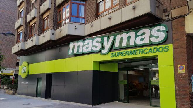 La cadena masymas inaugura un supermercado con nuevo diseño en Gijón