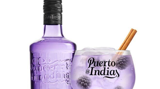 Puerto de Indias lanza su primera ginebra de mora