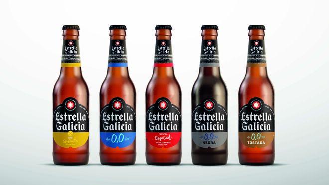 Estrella Galicia presenta nueva imagen para sus cervezas